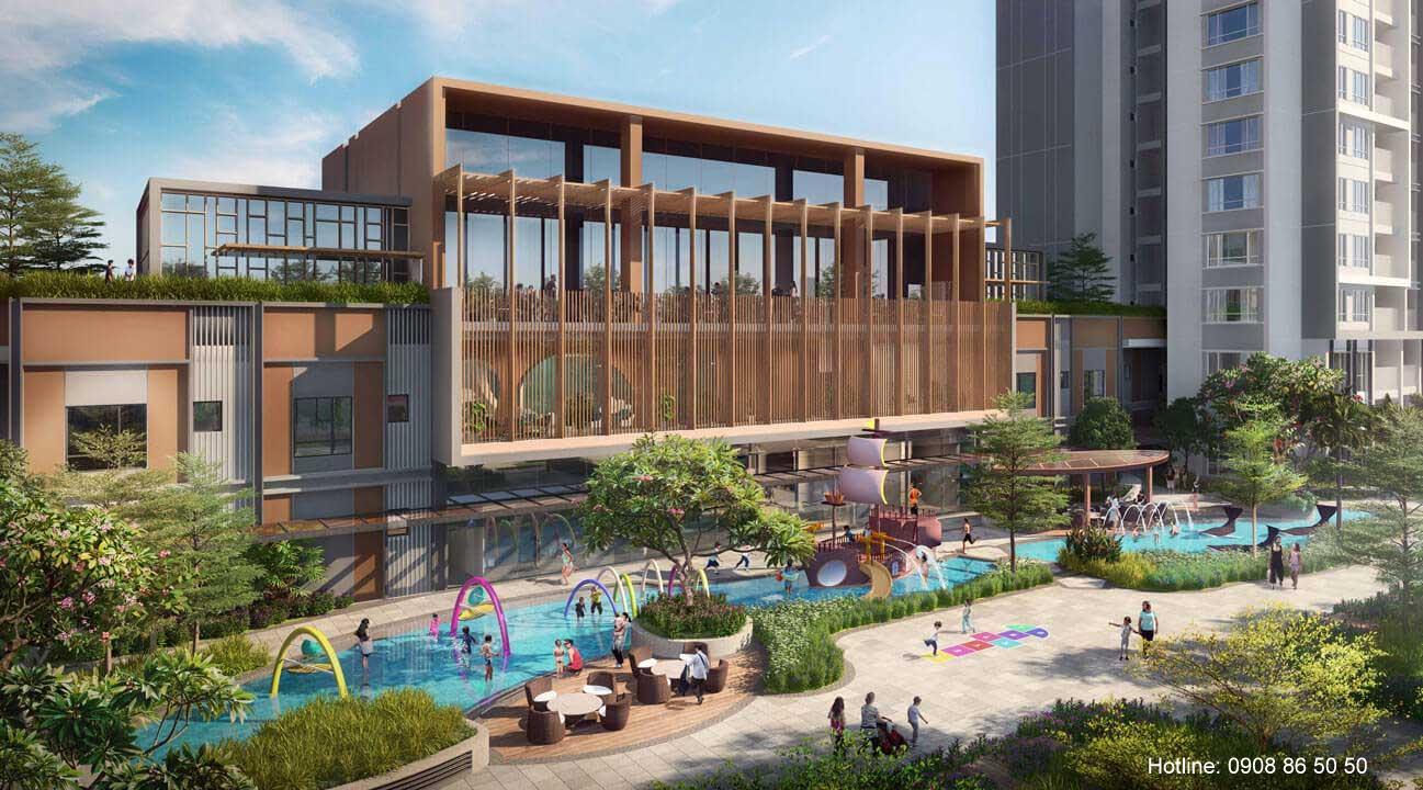 Phòng dự án Celesta Rise Keppel Land